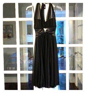 David's Bridal Halter Style Dress